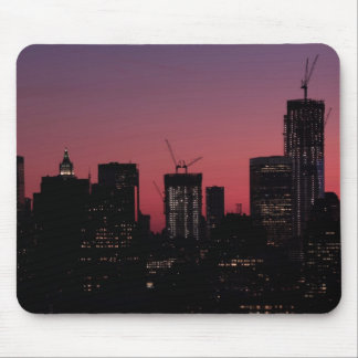 Crepúsculo Un World Trade Center encendido para a Alfombrillas De Ratón