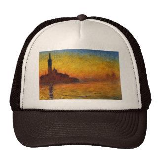Crepúsculo, Venecia de Claude Monet Gorros