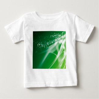 Crepúsculo verde de los cristales abstractos t-shirts