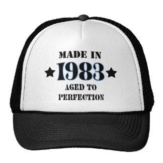 Cresa en 1983 - Aged to perfection Gorras De Camionero