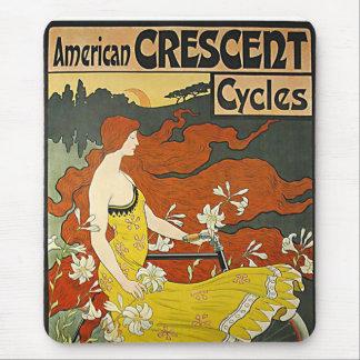 Crescent-1899 americano alfombrillas de ratones