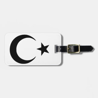 Crescent and Star Bag Tags