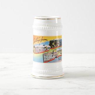 Crescent Beach South Carolina SC Vintage Postcard- Beer Stein