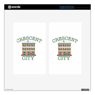 Crescent City Building Decal For Kindle Fire
