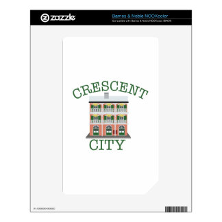 Crescent City Building Skin For The NOOK Color