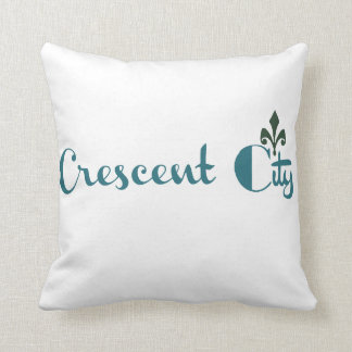Crescent City Graphic Throw Pillow