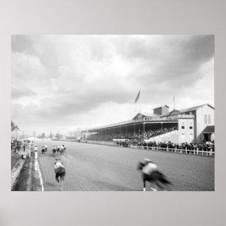 Crescent City Jockey Club 1906 Poster