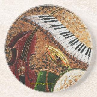 Crescent City Piano Drink Coaster