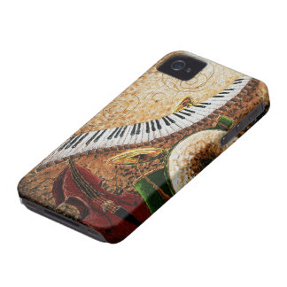 Crescent City Piano iPhone 4 Case-Mate Case
