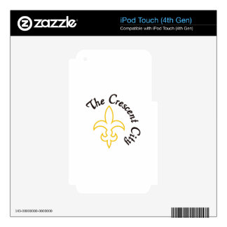 Crescent City Decals For iPod Touch 4G