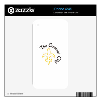 Crescent City Skin For iPhone 4