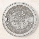 Crescent City Water Board Box Cover Coaster