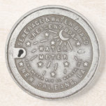 Crescent City Water Meter Cover Coaster