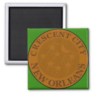 Crescent City Water Meter Lid Magnet