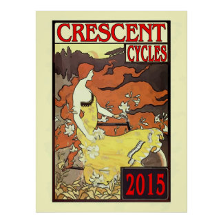 Crescent Cycle Race 2015 Poster