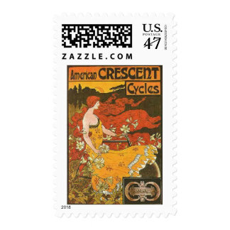Crescent Cycles Postage
