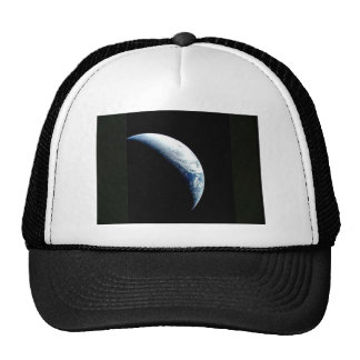 crescent earth mesh hat
