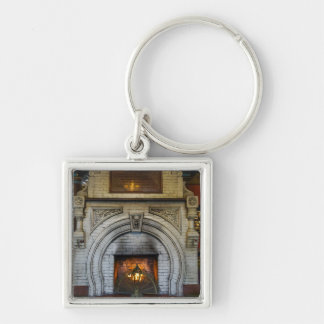 Crescent Hotel Fireplace Keychain