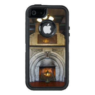 Crescent Hotel Fireplace OtterBox Defender iPhone Case