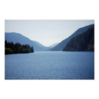 Crescent Lake Canvas Print