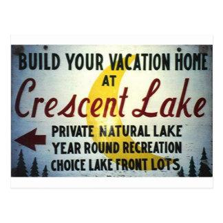 Crescent Lake, PA Postcard