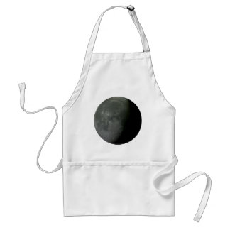 Crescent Moon! Adult Apron