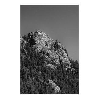 Crescent Moon and Buffalo Rock Stationery
