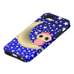 crescent moon and owl iPhone 5 covers