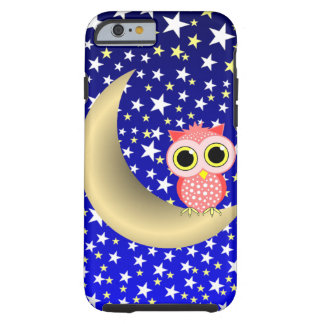crescent moon and owl tough iPhone 6 case
