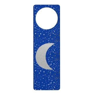 """""""Crescent Moon and Stars"""" Door Hanger"""