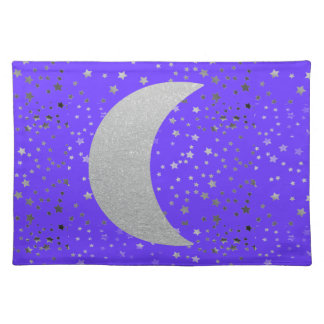 """""""Crescent Moon and Stars"""" Placemats"""