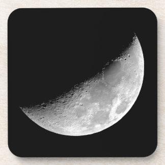 Crescent Moon Beverage Coaster