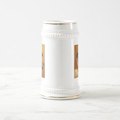 Crescent Moon Boxer Coffee Mugs