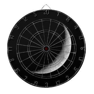 Crescent Moon Dart Board