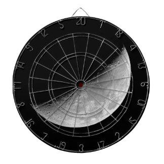 Crescent Moon Dartboard With Darts