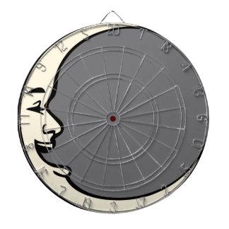 Crescent Moon Face Dart Boards