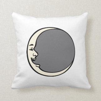 Crescent Moon Face Pillow