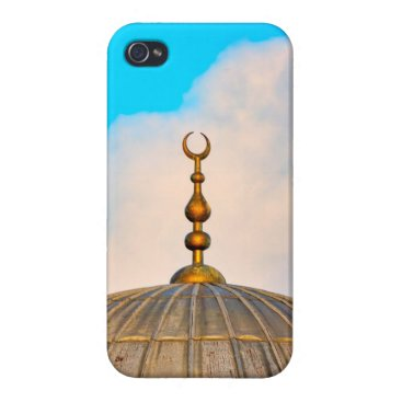 Crescent moon case for iPhone 4