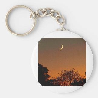 Crescent Moon Keychain