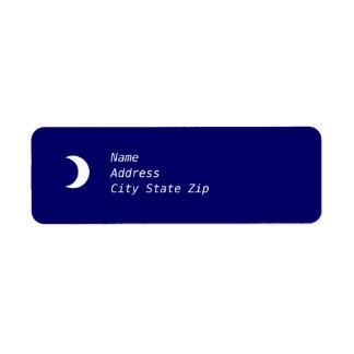 Crescent Moon Label