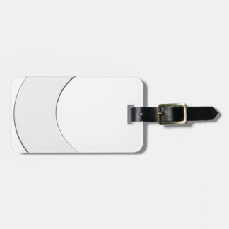 Crescent Moon Luggage Tag