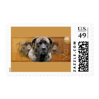 Crescent Moon - Mastiff - Cyclone Postage Stamps