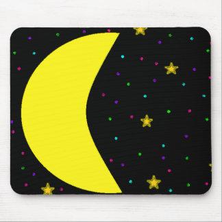 Crescent Moon Mousepad