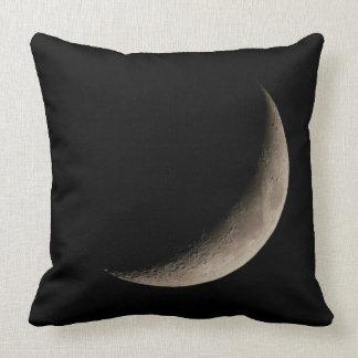 Crescent Moon Night Sky Pillow