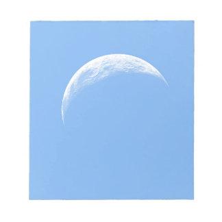 Crescent Moon Notepad