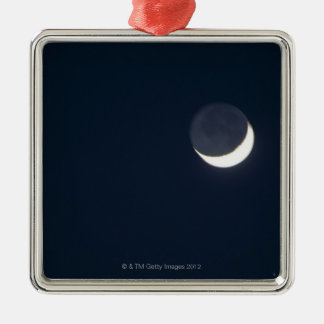 Crescent Moon Christmas Ornament