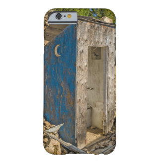 Crescent Moon Outhouse Barely There iPhone 6 Case