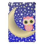 crescent moon owl cover for the iPad mini