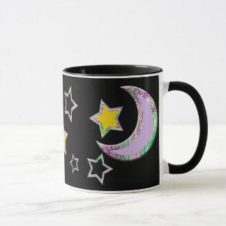 Crescent Moon & Stars Mug