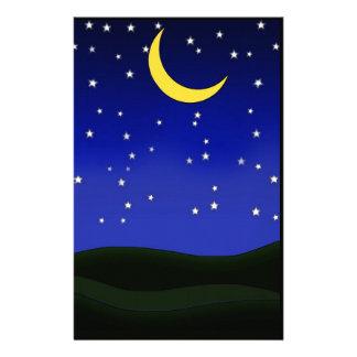 Crescent Moon Stationery